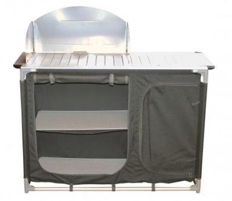 Mueble cocina aluminio midland aracat camping for Mueble cocina camping