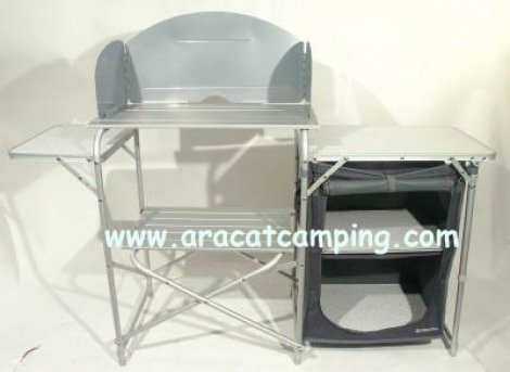 Mueble cocina plegable camping aracat camping for Mueble cocina camping