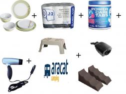 packs de productos camping