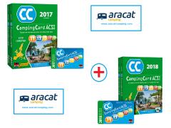 CAMPING CARD ACSI 2017 + ACSI 2018