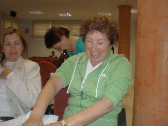 2007 Curso de iniciación en las Terapias Colegio Enfermería en León