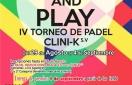 IV TORNEO DE PÁDEL CLINI-K S.V.