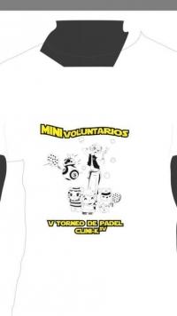 CAMISETA DE LOS MINIvoluntarios