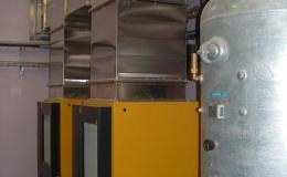 Compression et traitement de l'air