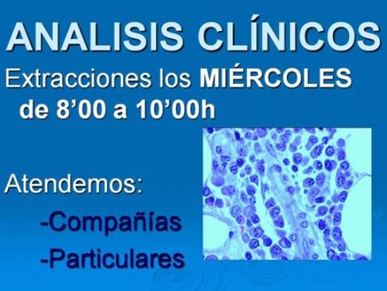 Análisis clínicos