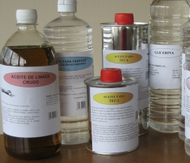 Aceite de linaza cocido