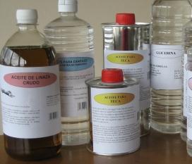 Aceite de linaza crudo