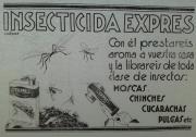 Cartel antiguo cera expres