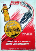Cartel publicitario Cers Exprés de 1962
