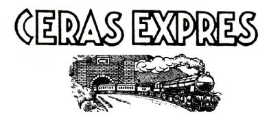 Letras y tren clásicos de Ceras Exprés