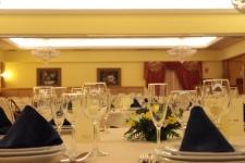 Detalle salón boda