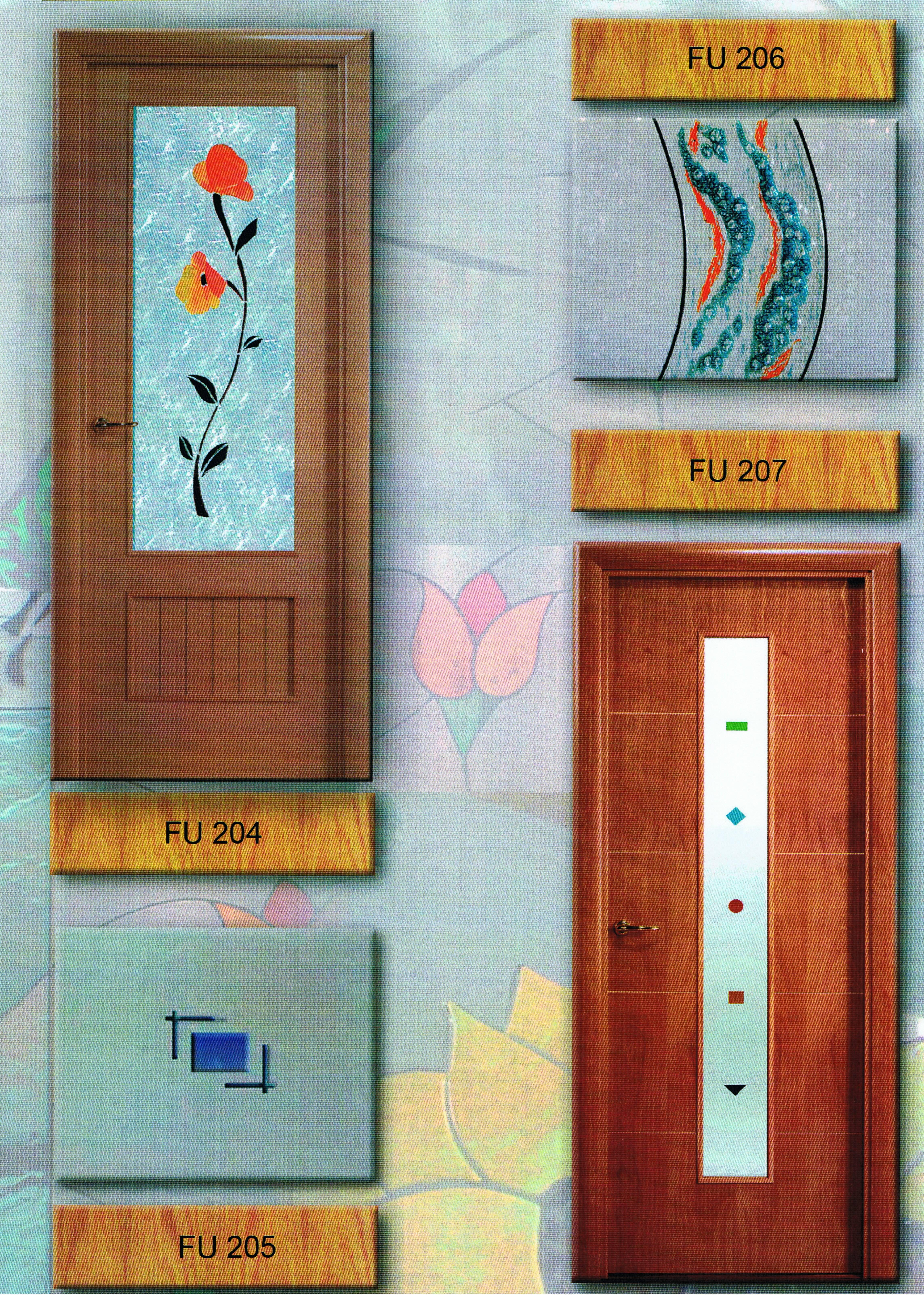 Cristales Decorativos Para Puertas De Interior. Vinilo Decorativo ...