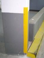 Esquinera PVC 7x7x100 cm. Varios colores