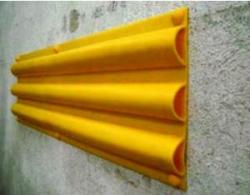(M/L) Moldura antichoque PVC Triple hueco