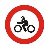 Entrada prohibida a motocicletas