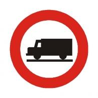 Entrada prohibida a vehículo de mercancias