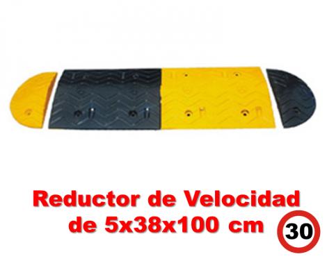 Reductor de Velocidad 5x38x100 cm.