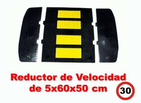 Reductor de Velocidad 5x60x50 cm.