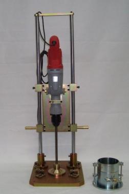 Maza de compactación por vibración (soporte kango)