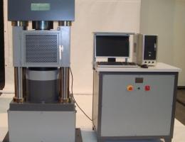 Máquinas de ensayo hidráulicas.
