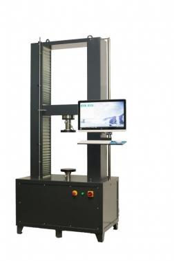 Prensa multiensayos electromecánica de doble husillo.