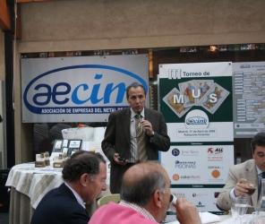 De nuevo éxito de participación en la III edición del torneo de mus AECIM