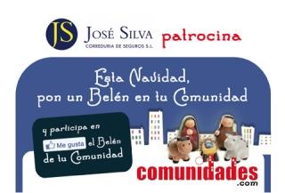 """José Silva Correduría de Seguros patrocina """"Esta Navidad, pon un Belén en tu Comunidad"""""""