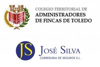 El Colegio Territorial de Administradores de Fincas de Toledo y José Silva Correduría de Seguros unen fuerzas