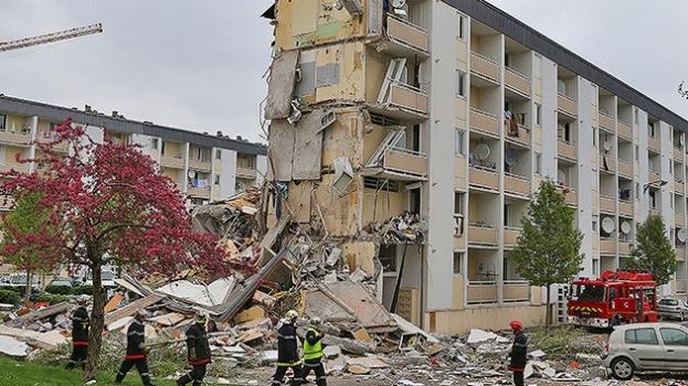 Derrumbe edificio