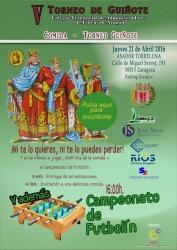 cartel V Torneo de Guiñote