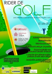 Cartel Torneo de Golf