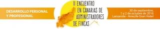 II Encuentro de Administradores de Fincas en Canarias