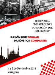 JORNADAS DESARROLLO Y FORMACION COLEGIADOS