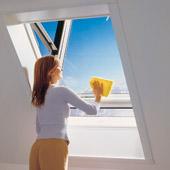 Ventana para tejado de pvc 54x98 apertura pivotante - Tejados de pvc ...