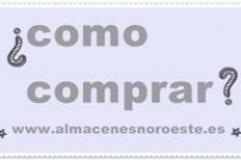 Como comprar en www.almacenesnoroeste.es
