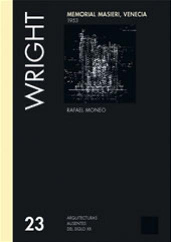 MEMORIAL MASIERI. VENECIA - FRANK LLOYD WRIGHT