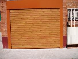 Cierre lama imitación madera