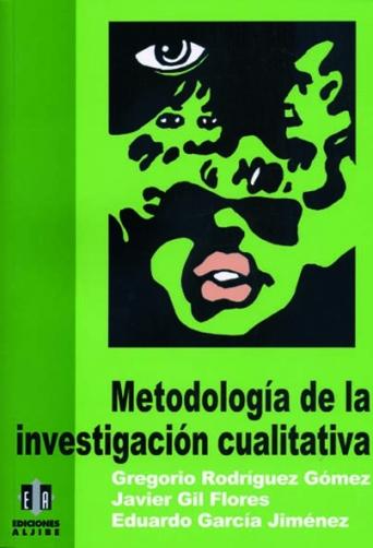 Metodología de la investigación cualitativa (consultar disponibilidad)