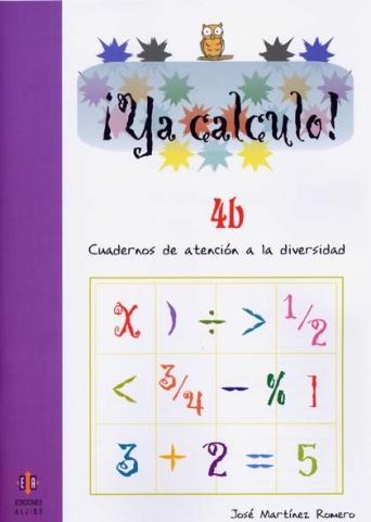 ¡Ya calculo! 4b (2º de Educación Primaria)