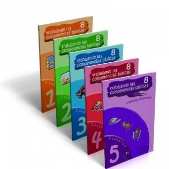 Trabajando las 8 competencias básicas. Colección completa.