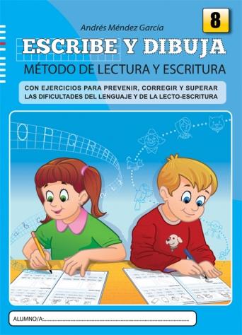 Escribe y dibuja. Cuaderno 8