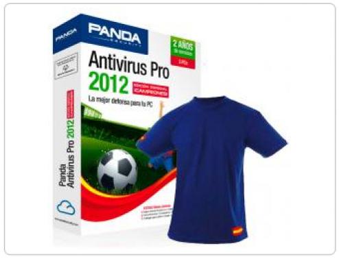 Panda Antivirus 2012 3 Licencias 4 Años + Camiseta Selección Española