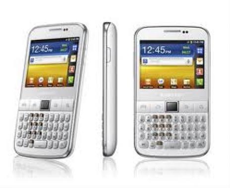 Samsung Galaxy Y Pro B5501 Color GRIS PLATA
