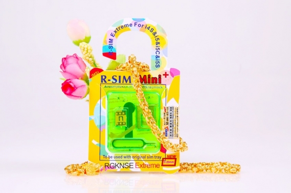 R-Sim 10 MINI(EXTREME)+iPhone 4S/5/5C/5S Libera Iphone IOS7
