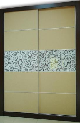 Puertas deslizantes con foto personalizada