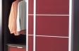 Puertas deslizantes paneles de cristal lacado brillo