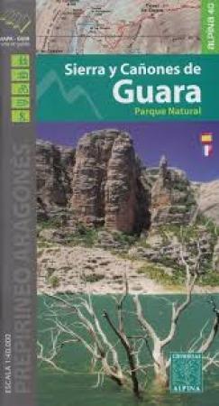 mapa sierra de guara