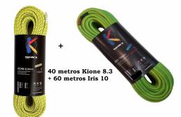60m Iris 10 + 40m Kione 8.3
