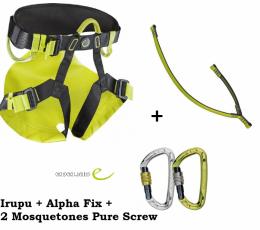 Irupu + ALpha Fix + Pure Screw