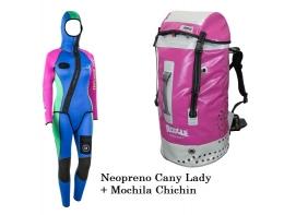 Pack Cany Lady + Mochila Chichin